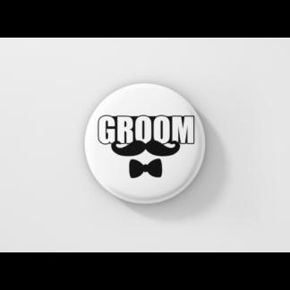 Значка за ергенско парти – GROOM