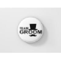 Значка за ергенско парти – TEAM GROOM