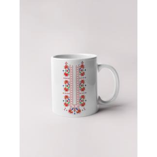 Керамична чаша с шевици-03