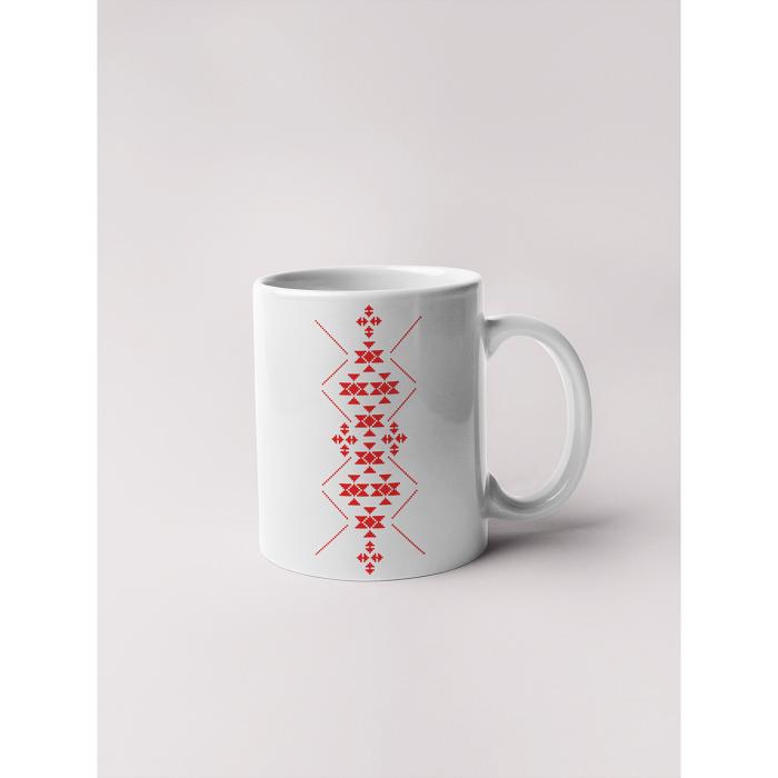 Керамична чаша с шевици-05