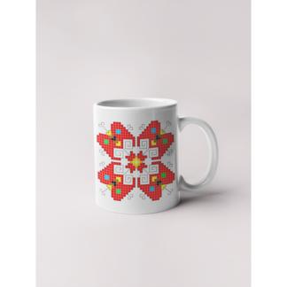 Керамична чаша с шевици-06