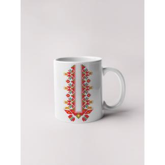 Керамична чаша с шевици-09