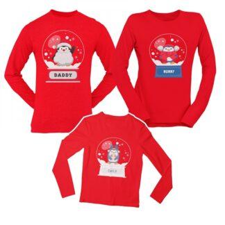 Коледен комплект блузи-PINGUI