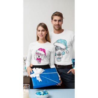 Комплект коледни блузи-CHRISTMAS DOGS