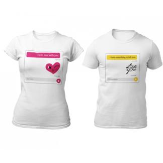 Тениски за влюбени – LOVE YOU