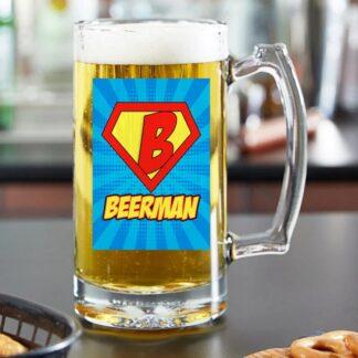 Стъклена халба за бира-Beerman