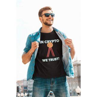 Мъжка тениска-BITCOIN TRUST