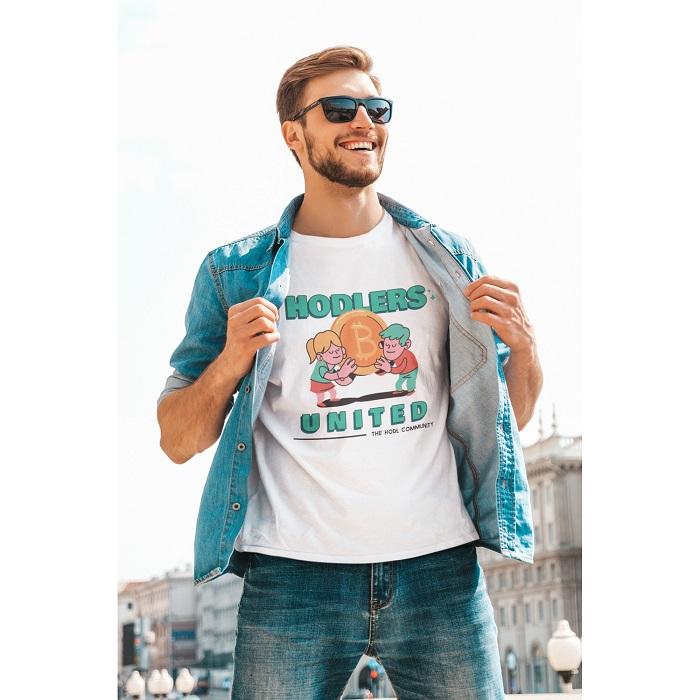 Мъжка тениска-BITCOIN UNITED