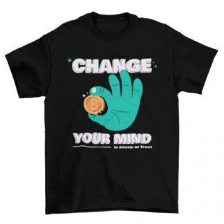Мъжка тениска-CHANGE