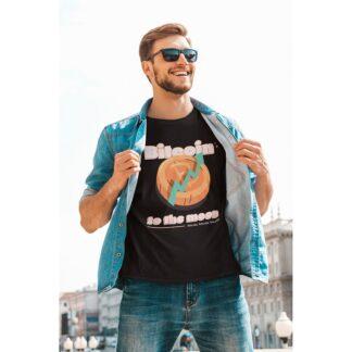 Мъжка тениска-TO THE MOON
