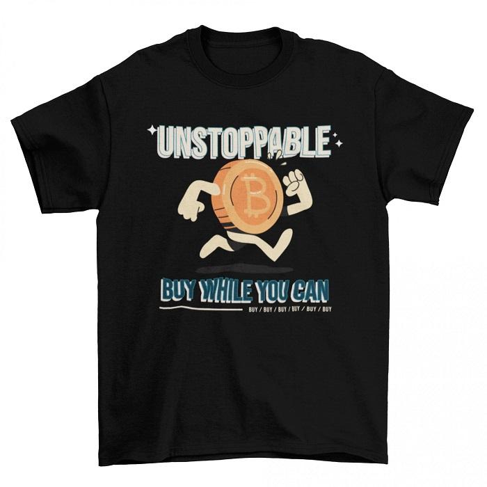 Мъжка тениска-UNSTOPABLE