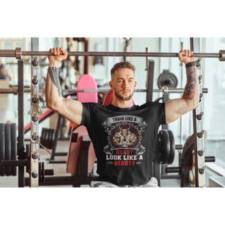 Мъжка фитнес тениска-BEAST 2