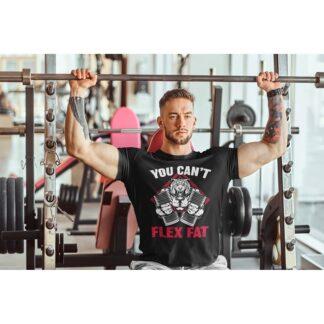 Мъжка фитнес тениска-FLEX