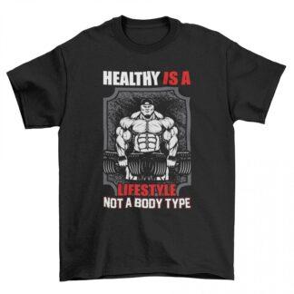 Мъжка фитнес тениска-LIFESTYLE