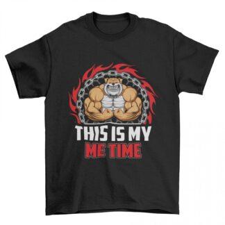 Мъжка фитнес тениска- THIS IS MY