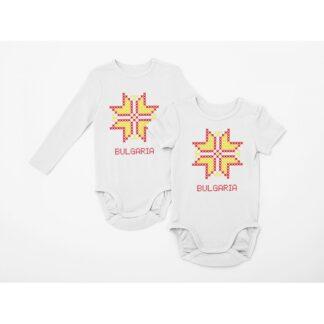 Бебешко боди с етно мотиви - 10