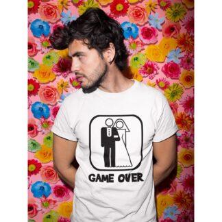 Тениски за ергенско парти – GAME OVER 2