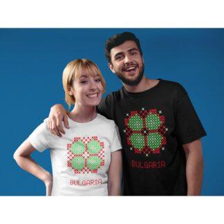 Дамска тениска с етно мотиви-24