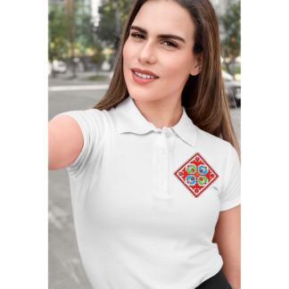 Дамска тениска тип лактоза с шевици 19