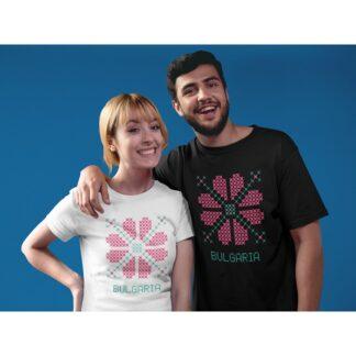 Мъжка тениска с етно мотиви-27