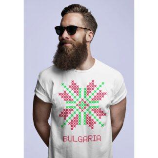 Мъжка тениска с етно мотиви-29