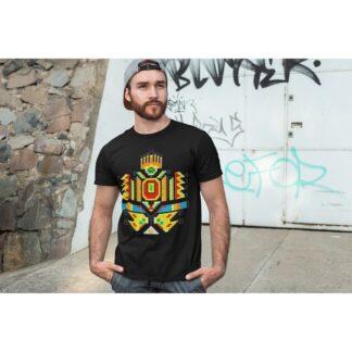 Мъжка тениска с етно мотиви-31